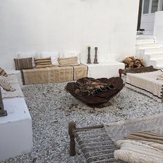 Just add fire, friends, food & drinks. Which reminds me, I'd better stop taking photos and get in the kitchen  ps all these throws and cushions are available through our store. Each one is slightly different as they are old one of pieces from Morocco