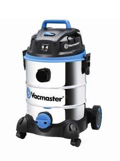 The Vacmaster 8 gallon Stainless Steel wet/dry vac is powerful, sleek and versatile. Featuring the muscle of a 4 Peak HP motor, quick moving swivel casters and a massive tank capacity, it cleans up after big jobs, leaks and even floods. Ready to convert into a blower in seconds, this vac changes functions with the simple swap of a hose. Whether you're cleaning up after a messy renovation or blasting fall leaves off the driveway, this machine moves when you need it.