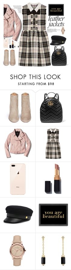 """mini cute 👑🎩"" by licethfashion ❤ liked on Polyvore featuring Aquazzura, Gucci, Mackage, Miu Miu, Henri Bendel, Americanflat, Burberry and David Yurman"