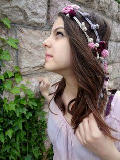 Beautiful+ideas+crochet | crochet flower headband Link Love! Best Crochet Blog Posts of The Week ...