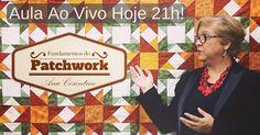 AULA AO VIVO HOJE 21H PATCHWORK SEM SEGREDOS!  Participehttp://duna.vc/patch-sem-segredos  Já pode deixar perguntas lá e não se esqueça de voltar hoje 08/06 às 21h para ver a aula ao vivo anota aí na sua agenda!  Link da sala de transmissão: http://duna.vc/patch-sem-segredos  Beijo Tânia  #patchwork #artesanato #costura #quilt #quilting