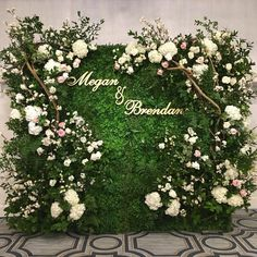 Personalized Couples Name Sign - Version & 3 pieces, Custom Name Sign, Wedding Name Sign, Backdrop Sign Personalized Couples Name Sign Version 2 & Flower Wall Wedding, Wedding Name, Diy Wedding, Wedding Events, Wedding Flowers, Dream Wedding, Summer Wedding, Wedding Ideas, Wedding Couples