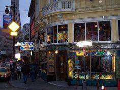 Vesuvio Bar, San Francisco - one of my favorite memories from my trek across the city with Tierieny!