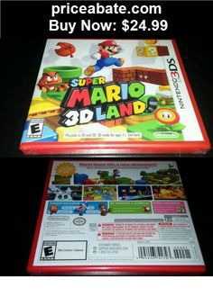 Video-Gaming: Super Mario 3D Land (Nintendo 3DS, 2011) brand new! - BUY IT NOW ONLY $24.99