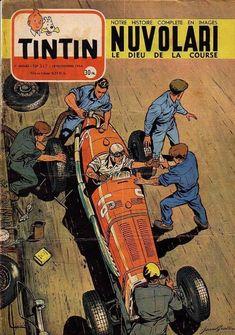 Tintin and cars. Superman, Batman, Vintage Movies, Vintage Posters, Grand Prix, Car Hood Ornaments, Ligne Claire, Bd Comics, Car Illustration