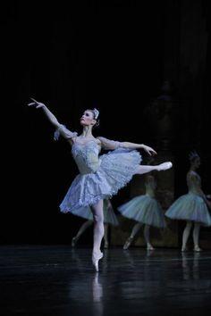 "Jurgita Dronina as Aurora in ""The Sleeping Beauty"" (Het National Ballet). Photo by S. Endinian."