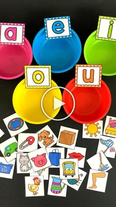 Middle Sound Sorting Cups learning Your students w&; Middle Sound Sorting Cups learning Your students w&; Susanne Kneip susannecuador Lerntheke Middle Sound Sorting Cups learning Your students will […] for short Preschool Learning Activities, Alphabet Activities, Toddler Activities, Preschool Activities, Short Vowel Activities, Educational Activities, Letter Identification Activities, Short Vowel Games, Weather Activities For Kids