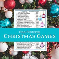 Christmas Timeline Challenge Christmas Travel, First Christmas, Christmas Bulbs, Christmas Cards, Christmas Decorations, Holiday Decor, Xmas Party Games, Dickens Christmas Carol