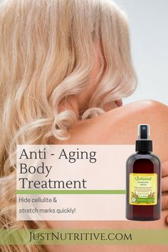 Imagine easily improving the look and feel of your skin each day by simply applying the Anti-Aging Body Treatment.