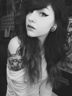 I Love Her Hair <3 And That's A Legit Tattoo.