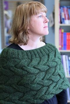 Ravelry: Braided Cable Hug pattern by Jami Brynildson