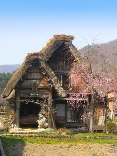old photos of japan | Old Japanese Village by PirateOfYourDreams