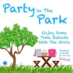 Party in the park! Just bring a few friends and Ill bring the bags. Thirty One Party, My Thirty One, Thirty One Bags, Thirty One Gifts, Direct Sales Party, Successful Business Tips, 31 Party, Thirty One Consultant, Independent Consultant