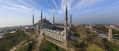Famous mosque in Istanbul Dan Brown, Tour Around The World, Around The Worlds, Blue Mosque, Beautiful Mosques, Hagia Sophia, Famous Places, Place Of Worship