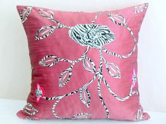 Hey, I found this really awesome Etsy listing at https://www.etsy.com/listing/172355087/indian-pink-pillow-sham-20x20-pillow