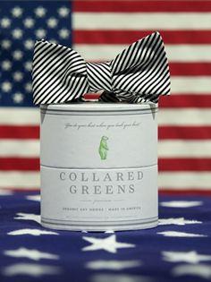 6ab667091774 $55.00 Collard Greens Stripes Bow BlackSignature SeriesAmerican Made Gold  Stripes, Green Stripes, Wedding Attire