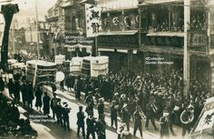 Shanghai, funeral of a rich Chinese | Photograph taken in the 1930s by a German family living in Shanghai since 1920, estate Cortum.