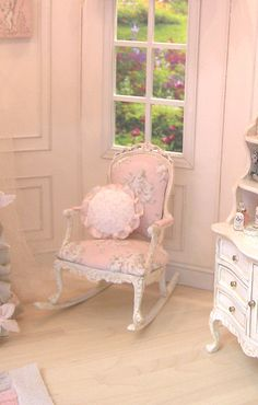 Dollhouse furniture... but I want it IRL!!! Madalyn's Nursery Class and Kit
