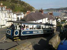 Great Orme Tramway in Llandudno, North Wales (by CoasterMadMatt).