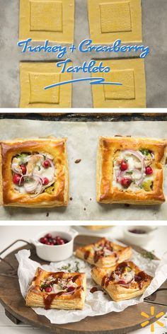 BBQ Cranberry Leftover Turkey Tarts  -  Once the guests have left and the kitchen is clean, what do you do with all that leftover Thanksgiving turkey? How about trying a turkey appetizer this year? You can find everything you need at Walmart.