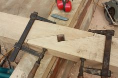 simplest of scarf joints