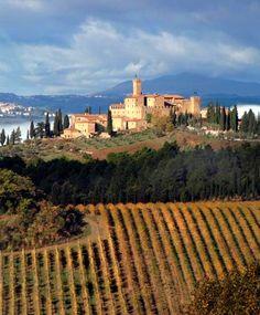 Castello Banfi Il Borgo, Montalcino, Tuscany. http://www.kiwicollection.com/hotel-detail/castello-banfi-borgo-montalcino