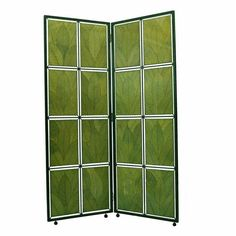 """Found it at Wayfair - 67"""" Cocoa Leaf Screen 2 Panel Room Divider"""