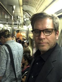 """""""I'm not seeing makeup on the subway."""" ~ Michael Weatherly"""