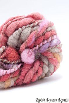 """Petals Naturally Dyed wool CoilSpun BeeHive Art by SpinSpanSpun, $36.00. """"Repinned by Keva xo""""."""