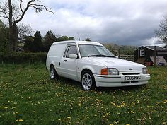 Escort Mk4 Van ++ Very Clean Classic Original Ford ++ White With Rs Turbo Parts - http://classiccarsunder1000.com/?p=73914