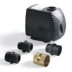 Algreen Rain Barrel Pump Kit Garden Hose Water Lawn And