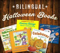 Being a bilingual family, I thought it would be fun to read some Halloween books in English and in Spanish that showcase different cultures.