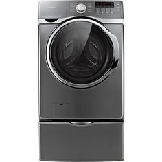 Samsung 4 cu ft High-Efficiency Front-Load Washer (Platinum) ENERGY STAR  Lowes  $779