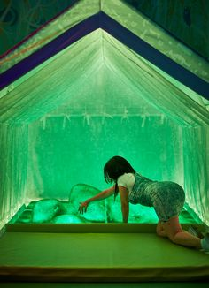 Grass girl arouses tent - Splendor in the Grass by Studio Droog for MoSex. Photo: Paul Barbera