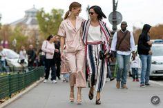 sisters in arms. #HanneliMustaparta & #LeighLezark in Paris.
