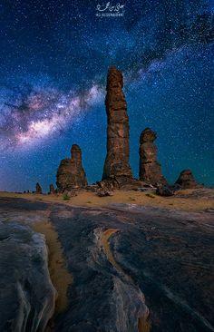 Milky Way by Ali ALSUHAIBANI on 500px