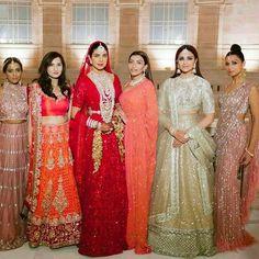 Unseen Wedding Pics From Priyanka Chopra And Nick Jonas Wedding! Indian Bridal Outfits, Indian Bridal Fashion, Pakistani Bridal Dresses, Indian Fashion Dresses, Indian Bridal Lehenga, Mode Bollywood, Bollywood Wedding, Bollywood Fashion, Punjabi Wedding