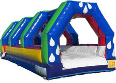 Original Slip-N-Slide  Cool down on a hot summer day with our original water Slip-n-Slide. Perfect for backyard parties or family gatherings. This unit provides hours of entertainment both for kids and adults. Run!..Dive!...Slide!
