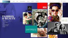 Viva city mall website by Pratik Joshi, via Behance