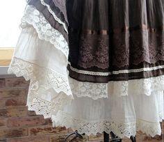Юбки ручной работы. Ярмарка Мастеров - ручная работа. Купить Длинная летняя юбка Бохо. Handmade.