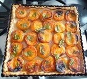 apricot verveine tart