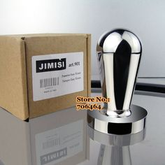 Free shipping stainless steel Coffee tamper 51mm JIMISI semiautomatic coffee pressure powder Excellent quality competitive price