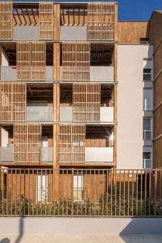 Imagem 29 de 36 da galeria de Habitação Social em BONDY / Guérin & Pedroza architectes. Fotografia de 11h45