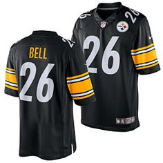 1d0a8b67569 Get this Pittsburgh Steelers Le Veon Bell Limited Jersey at  ThePittsburghFan.com