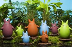 Le Monde de Shokoro Totoro, Easter Eggs, Packaging Design, Planter Pots, Creations, Chocolatier, Culture, Christmas Ornaments, Holiday Decor