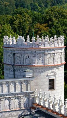 Zamek w Krasiczynie, nieznany wśród Polaków. A jest na co popatrzeć :) #castle #polska #architektura