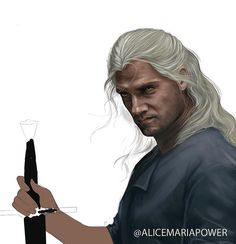 Witcher WIP Yes I have 5 paintings I need to finish and yes this started as a sketch but I couldnt stop myself. I'm not surprised anymore. Check that nasty undone hand. Geralt Of Rivia, Yes I Have, Drawing Art, Digital Art, Sketch, It Is Finished, Paintings, Drawings, Illustration