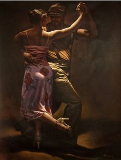 Flamenco Dancer | Hamish Blakely - British Figurative painter