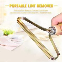 Portable Lint Remover Clothes Shaver restores your clothes and fabrics to a fresh new look! To give your old fabrics new life by giving them a quick shave without damaging the fabric keeps them clean, soft and looking like new. Life Hacks Diy, Pet Hair Removal, Lint Remover, Car Upholstery, Things To Buy, Stuff To Buy, Pure Copper, Cool Gadgets, Cleaning Hacks