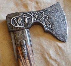 Viking axe... not historically accurate design, but nice!